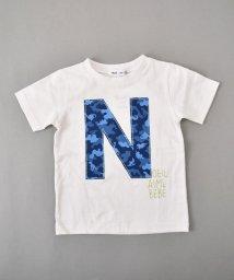 Noeil aime BeBe/【カタログ掲載】天竺キョウリュウカモフラロゴTシャツ/501910589