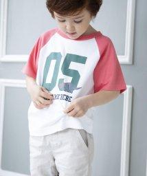 Noeil aime BeBe/【カタログ掲載】天竺ラグランナンバリングTシャツ/501910590