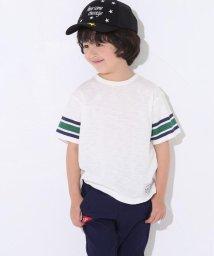 SLAP SLIP/スラブ天竺袖ラインナンバープリントTシャツ/501911327