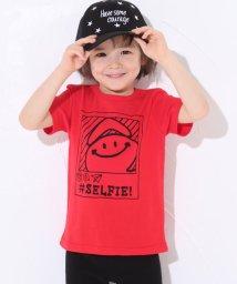 SLAP SLIP/天竺eくんセルフィープリントTシャツ/501911334