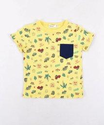 SLAP SLIP/天竺eくんサマープリントポケット付Tシャツ/501911342
