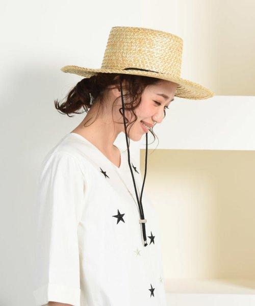 LIPSTAR(リップスター)/【Casselini】キャセリーニ ドローコードカンカン帽/610381199