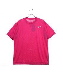 MIZUNO/ミズノ MIZUNO  テニス 半袖Tシャツ バックロゴ 背面ロゴ 練習 プラクティス トレーニング バドミントン ソフトテニス ウェア 62JA9Z0164/501934752