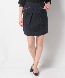 Eimy Peal by POWDER SUGAR/リネコ素材ビジューポケットタイトスカート/501936176