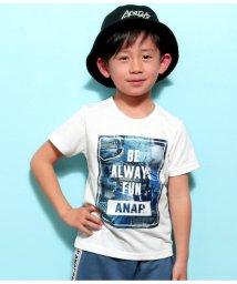 ANAP KIDS/デニムパッチワークTee/501941095
