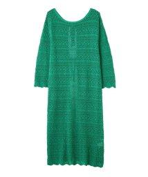 PROPORTION BODY DRESSING/《BLANCHIC》レーシーニットガウンワンピース/501941282