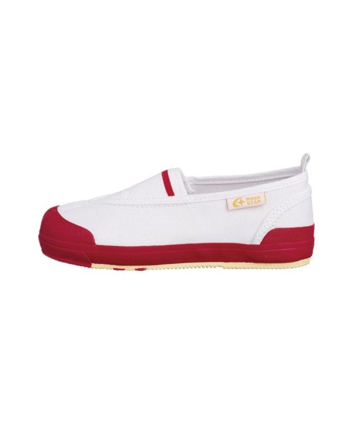 フットプレイス ムーンスター キャロット 上履き 上靴 スクール 男の子 女の子 室内履き TKHS−CR12 キッズ レッド 19cm 【FOOT PLACE】