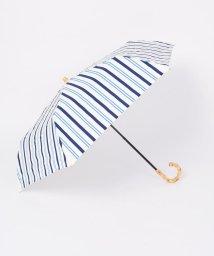 SHIPS WOMEN/《予約》マルチストライプ SHORT 晴雨傘◆/501943309