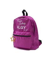 ALGY/星カラビナ付きロゴリュック/501588909