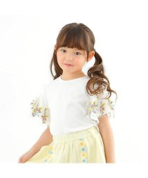 Seraph / F.O.KIDS MART/チュール刺繍袖Tシャツ/501589661