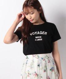 Rirandture/【美人百花 4月号掲載】カレッジロゴTシャツ/501593840