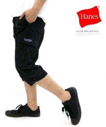 MARUKAWA/【HANES】ヘインズ 7分丈 カーゴパンツ クロップドパンツ/501898149