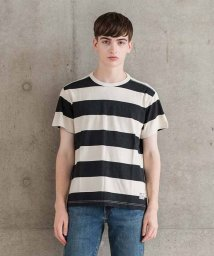 LEVI'S MEN/SS MIGHTY TEE II PRINTED RUGBY CAVIAR ON/501933632