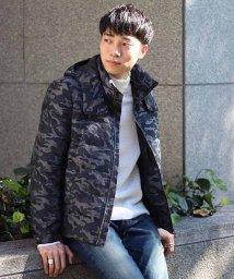 Men's Bigi/カモフラ柄ダウンジャケット/501933744