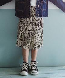 RADCHAP/レオパード柄プリーツスカート(90~140cm)/501941813