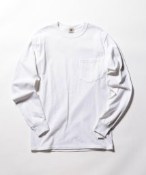 FREDYMAC/ポケット付 USシルエットロンスリーブTシャツ/501943928