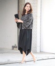 Sweet&Sheep/裾切替えフレアワンピース/501945598