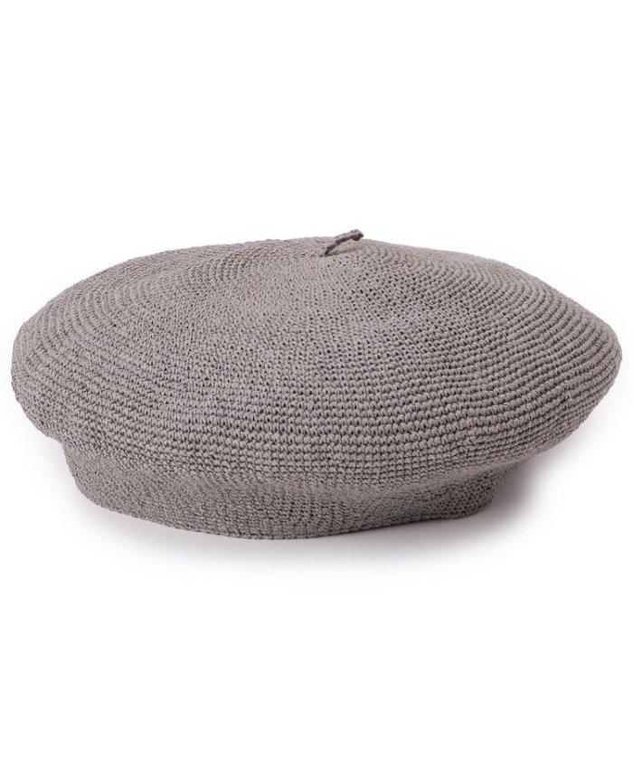 ペーパーストローベレー帽