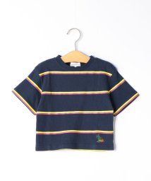 green label relaxing (Kids)/【キッズ】ボーダープリントTシャツ/501946176