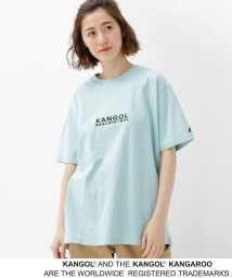 BASECONTROL/【WEB限定】  コラボ 別注  KANGOL 胸刺繍 Tシャツ/501946669