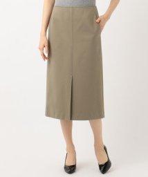 NIJYUSANKU/【マガジン掲載】ハイストレッチポンチ Iラインスカート(検索番号H32)/501947105