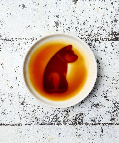 Afternoon Tea LIVING(アフタヌーンティー・リビング)/犬柄醤油皿/FP2218206179