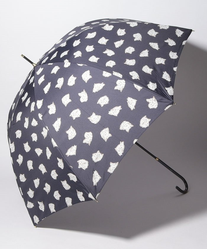 ドッグプリント長傘 雨傘