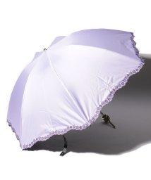 LANVIN Collection(umbrella)/LANVIN COLLECTION 晴雨兼用傘 ミニ傘 【クイックアーチ】 刺繍 小花/501913242