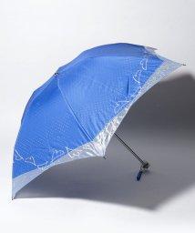 LANVIN en Bleu(umbrella)/LANVIN en Blue 晴雨兼用傘 ミニ傘 オーガンジー 刺繍/501913253