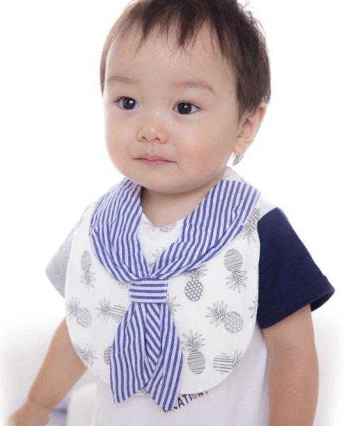 e-baby(イーベビー)/天竺+ブロードパインプリントスカーフスタイ/183412526