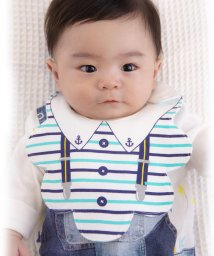 e-baby/天竺プリント変形スタイ/501947253