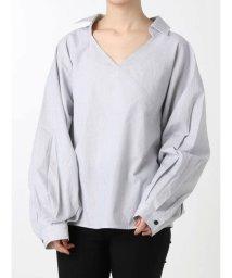 EMODA/ワイドマークシャツトップ/501947354