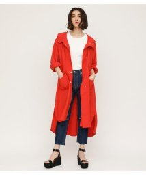 SLY/NYLON HOODED COAT/501947455