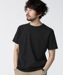 nano・universe/超長綿リラックスフィットクルーネックTシャツ/501947582