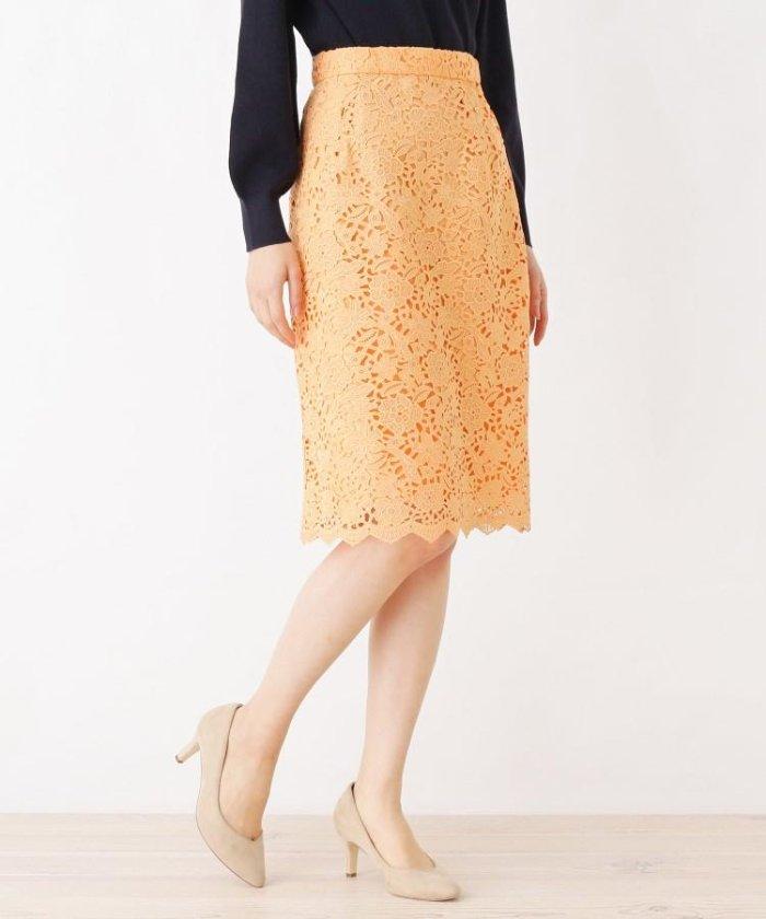 index レースミモレタイトスカート