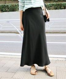 SLOBE IENA/ダブルクロスミモレマーメイドスカート◆/501948676