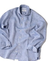 SHIPS JET BLUE/SHIPS JET BLUE: L.B.N. リネン セミワイドカラーシャツ/501949167