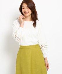 SunaUna/【洗える】パフレースプルオーバー/501949255
