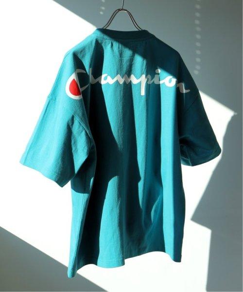 EDIFICE(エディフィス)/Champion×EDIFICE / チャンピオン別注 BIG LOGO TEE/19071310004710