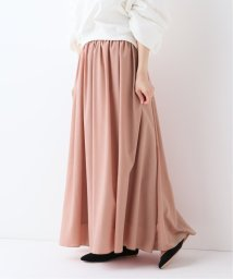 SLOBE IENA/スパンブロードギャザーロングスカート◆/501949799