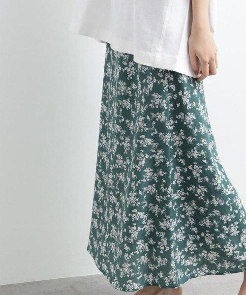 OZOC(オゾック)/[洗える]花柄ナローマキシスカート/20190116276043