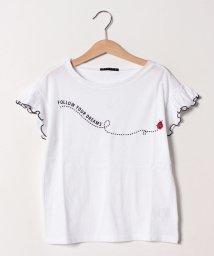 SISLEY YOUNG/バグズプリントフリル半袖Tシャツ・カットソー/501926830