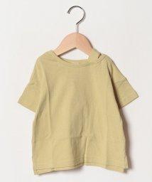 petit main/肩ストラップ四分袖Tシャツ/501938625