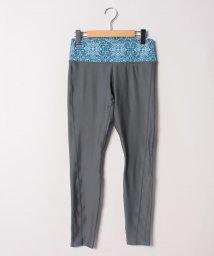 VacaSta Swimwear/【RUSTY】ウエストプリント無地フルレギンス/501940103