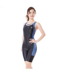 VacaSta Swimwear/【REEBOK】星空柄切替オールインワン水着/501940109