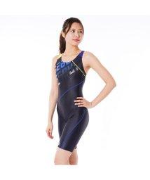 VacaSta Swimwear/【REEBOK】ロゴデザインオールインワン/501940110