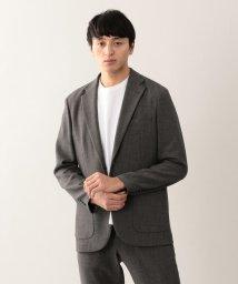 MACKINTOSH PHILOSOPHY/【EASY DRESSING】 麻調ストレッチ シングル2Bジャケット/501934113