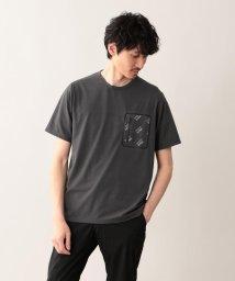 MACKINTOSH PHILOSOPHY/【britec】BR707 プリントポケTシャツ/501934147