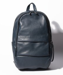 PATRICK STEPHAN/Leather backpack 'round double F'/501937044