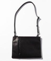 PATRICK STEPHAN/Leather shoulder bag 'grande poche' sacoche/501937045